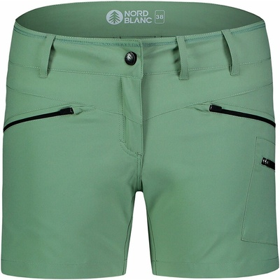 Ženske lahke kratke hlače za na prostem NORDBLANC Enostavnost NBSPL7418_PAZ