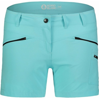Ženske lahke kratke hlače za na prostem NORDBLANC Enostavnost NBSPL7418_PLM