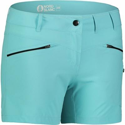 Ženske lahke kratke hlače za na prostem NORDBLANC Enostavnost NBSPL7418_PLM, Nordblanc