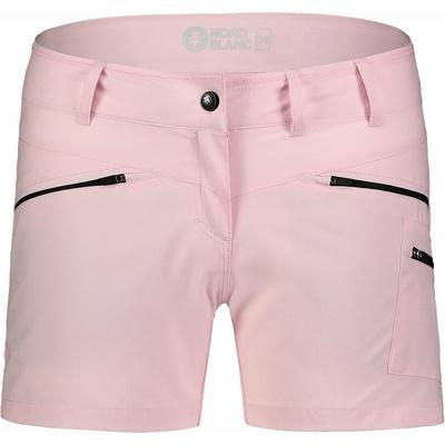 Ženske lahke kratke hlače za na prostem NORDBLANC Enostavnost NBSPL7418_RUT