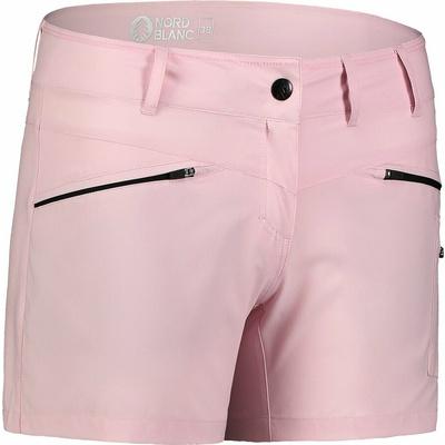 Ženske lahke kratke hlače za na prostem NORDBLANC Enostavnost NBSPL7418_RUT, Nordblanc