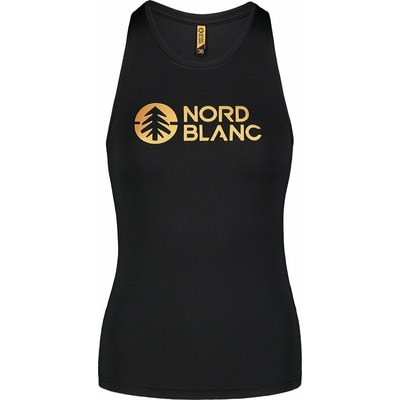 Ženska fitnes top Nordblanc Balzam Črna NBSLF7446_CRN