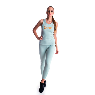 Ženska fitnes top Nordblanc Balzam zelena NBSLF7446_JMZ, Nordblanc