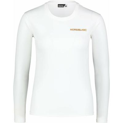 Ženske fitnes majica Nordblanc Spopad bela NBSLF7448_BLA, Nordblanc