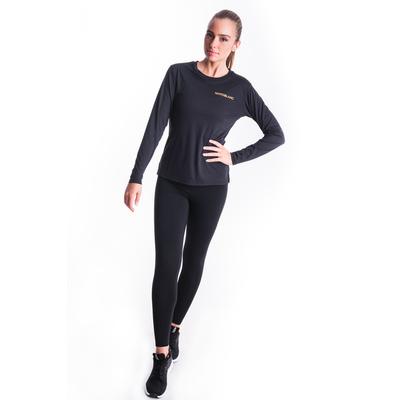 Ženske fitnes majica Nordblanc Spopad Črna NBSLF7448_CRN, Nordblanc