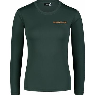 Ženske fitnes majica Nordblanc Spopad zelena NBSLF7448_TZE