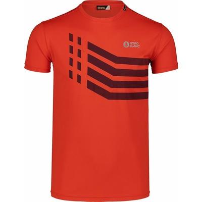 Moška majica Nordblanc Močnejši oranžna NBSMF7457_OIN, Nordblanc