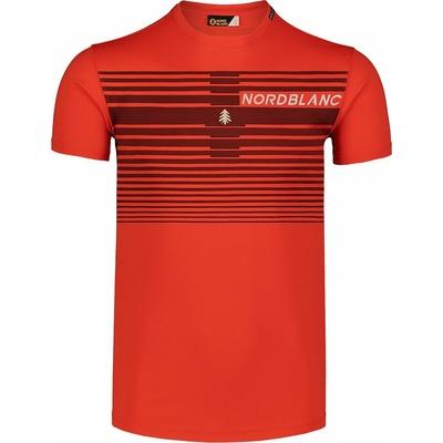 Moška majica Nordblanc Gradiant oranžna NBSMF7459_OIN, Nordblanc