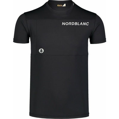 Moška fitnes majica Nordblanc Rasti črna NBSMF7460_CRN