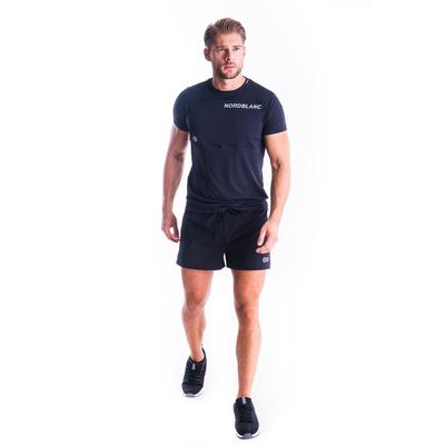 Moška fitnes majica Nordblanc Rasti črna NBSMF7460_CRN, Nordblanc