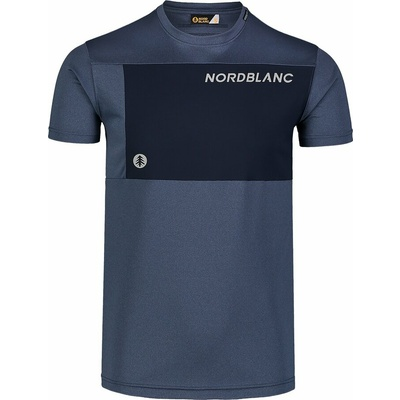 Moški fitnes majica Nordblanc Rasti modra NBSMF7460_SRM