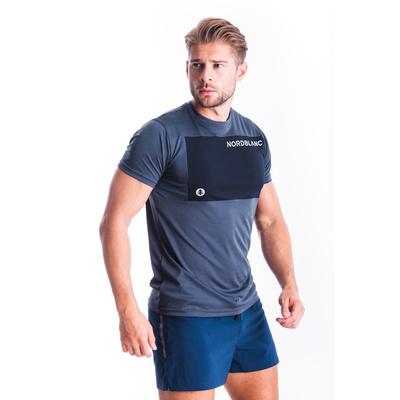 Moški fitnes majica Nordblanc Rasti modra NBSMF7460_SRM, Nordblanc