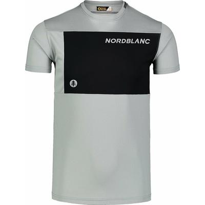 Moški fitnes majica Nordblanc Rasti siva NBSMF7460_SSM
