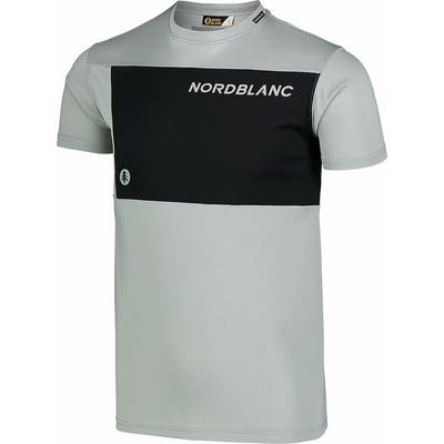 Moški fitnes majica Nordblanc Rasti siva NBSMF7460_SSM, Nordblanc