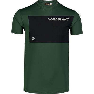 Moška fitnes majica Nordblanc Rasti črna NBSMF7460_TZE