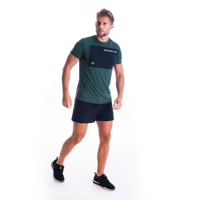 Moška fitnes majica Nordblanc Rasti črna NBSMF7460_TZE, Nordblanc