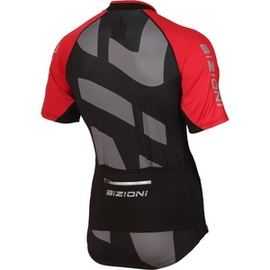 ciklo majica Lasting MD74 črno-rdeča, Lasting