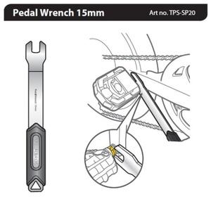ključ Topeak pedal ključa 15mm TPS-SP20, Topeak