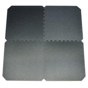 pranje Yate FITNES PUZZLE MAT 55X55X0,8 CM, SET 4 KS, black, Yate