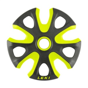 krožnik LEKI Big Mountain Basket 2K 95mm črno-neon rumena 853100112, Leki
