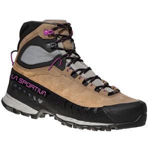 ženske čevlji La Sportiva TX5 GTX ženske Stone taupe / vijolična, La Sportiva