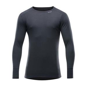 moški volnena majica Devold Pohodništvo Moški shirt črna GO 245 220 A 950A