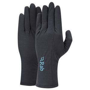 rokavice Rab Kovačnica 160 Glove ženske ebony / eb, Rab