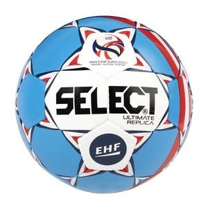rokomet žoga Select HB Ultimate EURO 2020 replika bela blue, Select