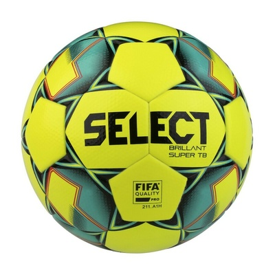 Takccer kroglica Select FB Brillant Super TB rumena zelena, Select