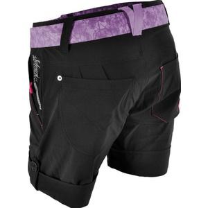 ženske brezplačno kratke hlače Silvini Cian WP806 črno-lila, Silvini