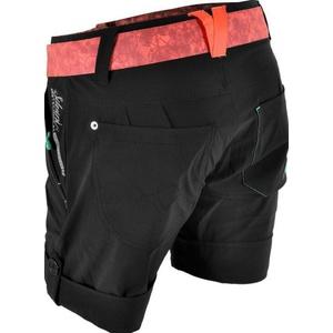 ženske brezplačno kratke hlače Silvini Cian WP806 črno-prebijalo, Silvini