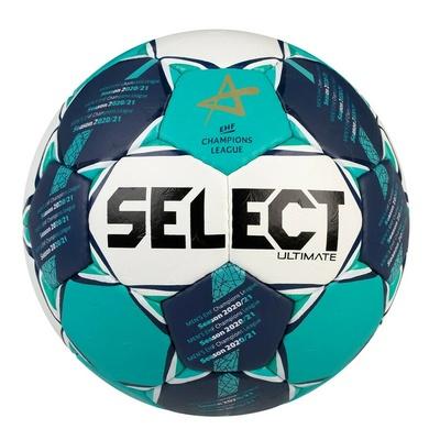 Žogica za rokomet Select HB Ultimate CL Moški bela in zelena, Select