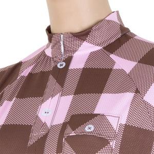 ženski majica Sensor trg rjava / roza 16100039, Sensor