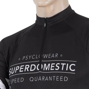 moški majica Sensor Superdomestic črna 16100028, Sensor