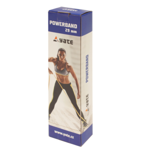 Powerband Yate 2080 x 4,5 mm x 19 mm zelena, Yate
