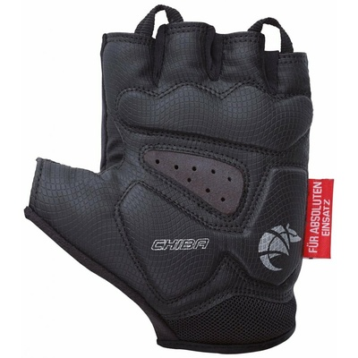 ciklo rokavice Chiba GEL PREMIUM z gel dlani, črna 30117.10, Chiba
