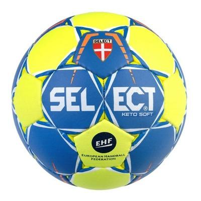 Rokometna žoga Select HB Keto mehko rumena modra, Select