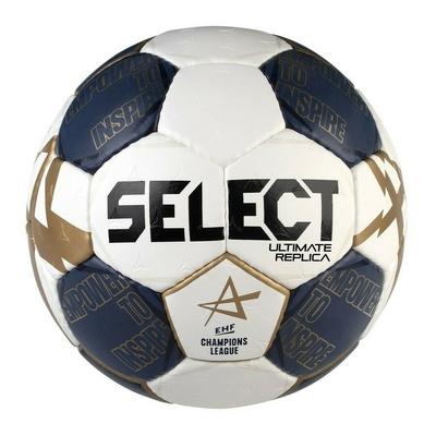 Žogica za rokomet Select HB Ultimate Replika CL bela in modra, Select