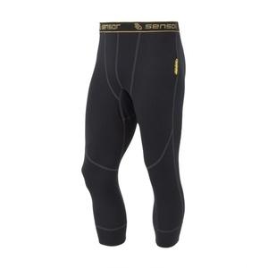 moški 3/4 spodnje hlače Sensor Double obraz črna 1003023-02, Sensor
