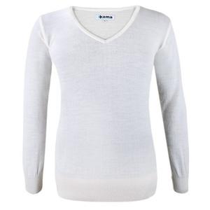 ženski pulover Kama 5101 101 seveda bela, Kama