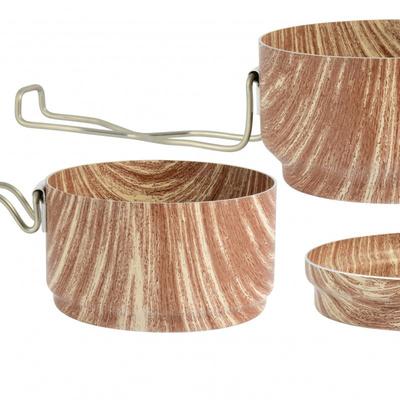 ESUS ALB WOOD 3-delni, oblikovalski les 0616, ALB