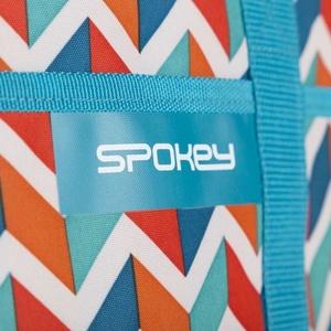 plaža termo torba Spokey ACAPULCO blue cik cak, 39 x 15 x 27 cm, Spokey
