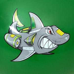 skoki žoga Spokey Sharky 60 cm, Spokey