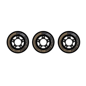 kolesa za skate Spokey PU 120 mm 3ks, Spokey