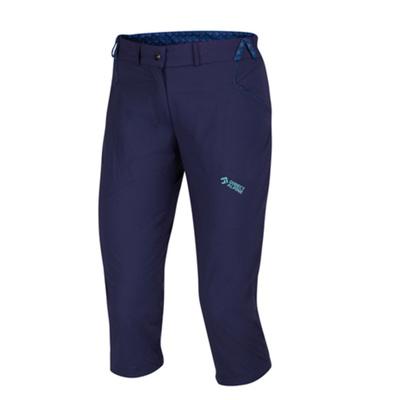 Zunaj hlače IRIS dama 3/4 indigo / mentol, Direct Alpine