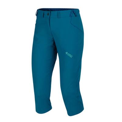 Zunaj hlače IRIS dama 3/4 bencin / mentol, Direct Alpine