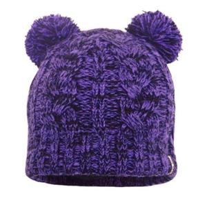klobuk DexShell Otroci kapa Pom Pom Vijolična, DexShell