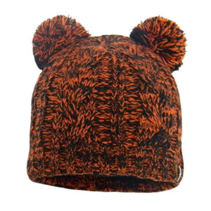 klobuk DexShell Otroci kapa Pom Pom Tangelo rdeča, DexShell