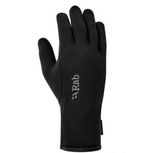 rokavice Rab moč odsek Kontakt Glove črna / bl, Rab