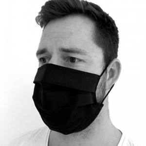 Enobarvno bombaž maska KAMA, Kama